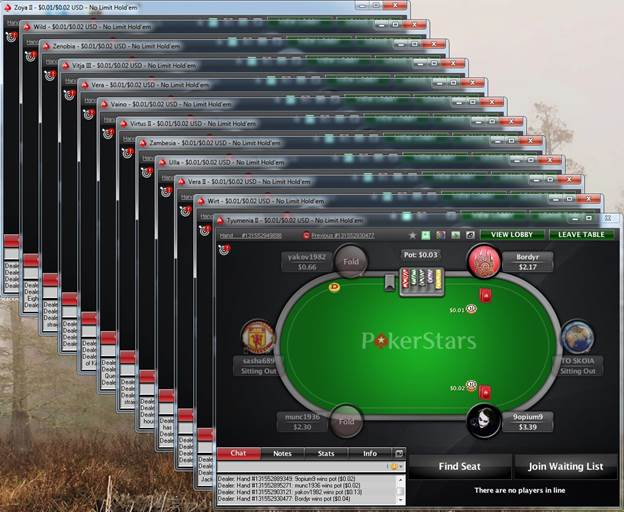 Description: Image result for tiling vs stacking poker